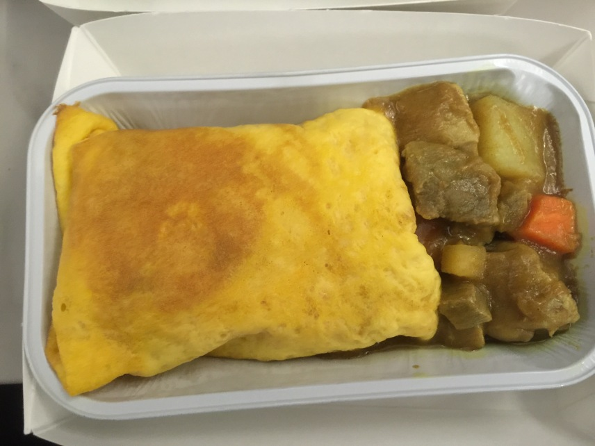 和風咖哩豬肉蛋包飯