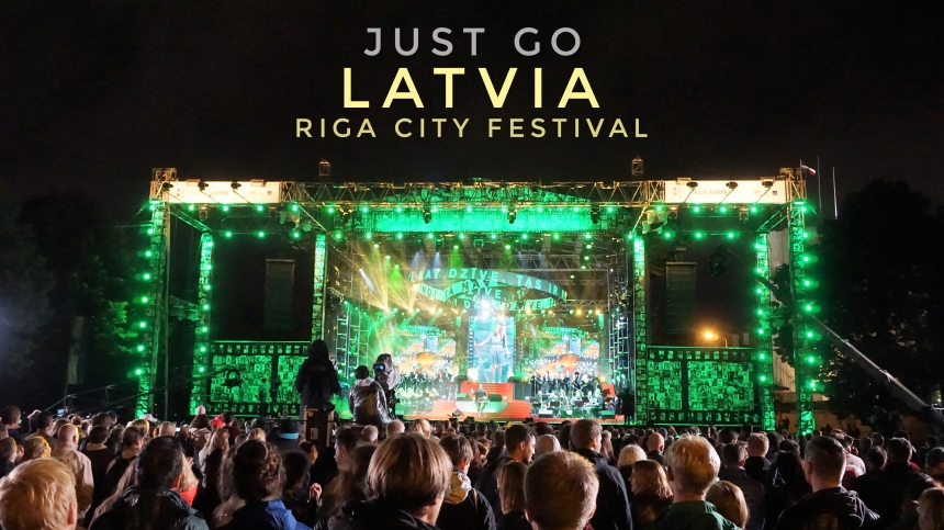 拉脫維亞-一年一度里加城市節Riga City Festival