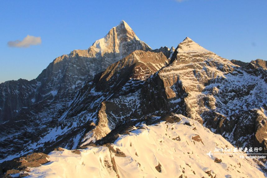 [中國] 日出登頂5025公尺·四川四姑娘山大峰雪地攀登2日遊記36_