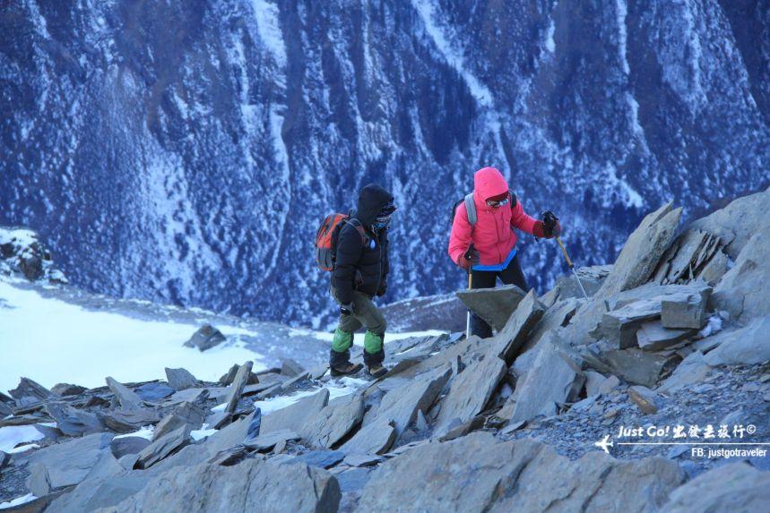 [中國] 日出登頂5025公尺·四川四姑娘山大峰雪地攀登2日遊記37_