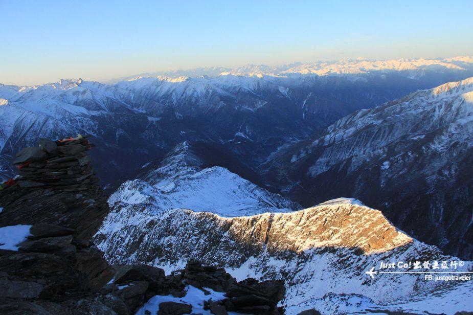 [中國] 日出登頂5025公尺·四川四姑娘山大峰雪地攀登2日遊記38_