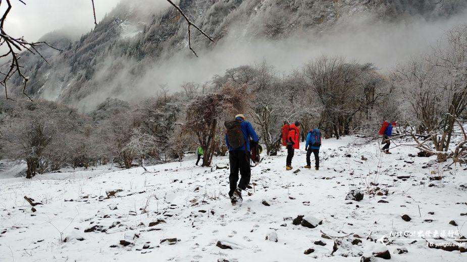 雙溝橋冬季攀冰訓練攻略與心得12_