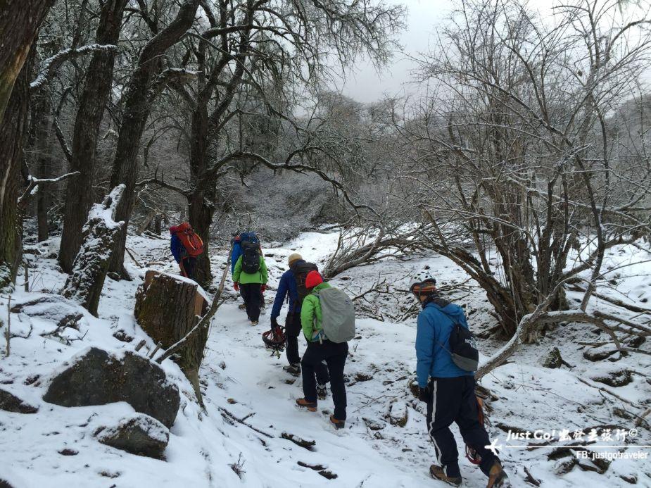 雙溝橋冬季攀冰訓練攻略與心得13_