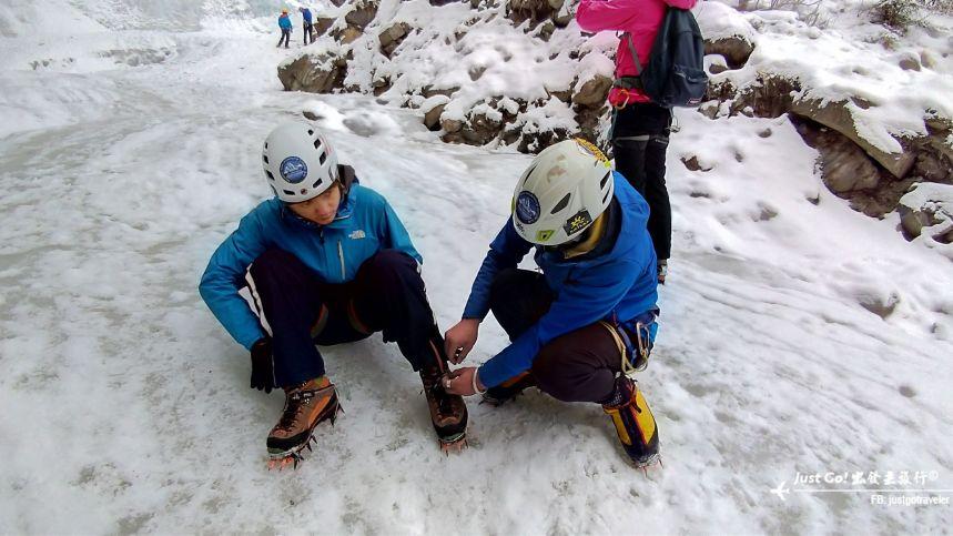 雙溝橋冬季攀冰訓練攻略與心得14_