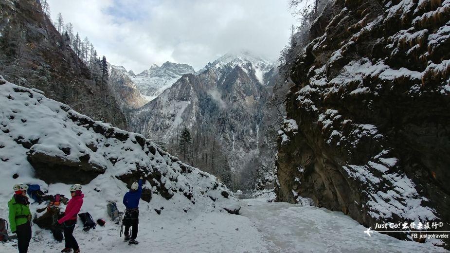 雙溝橋冬季攀冰訓練攻略與心得15_
