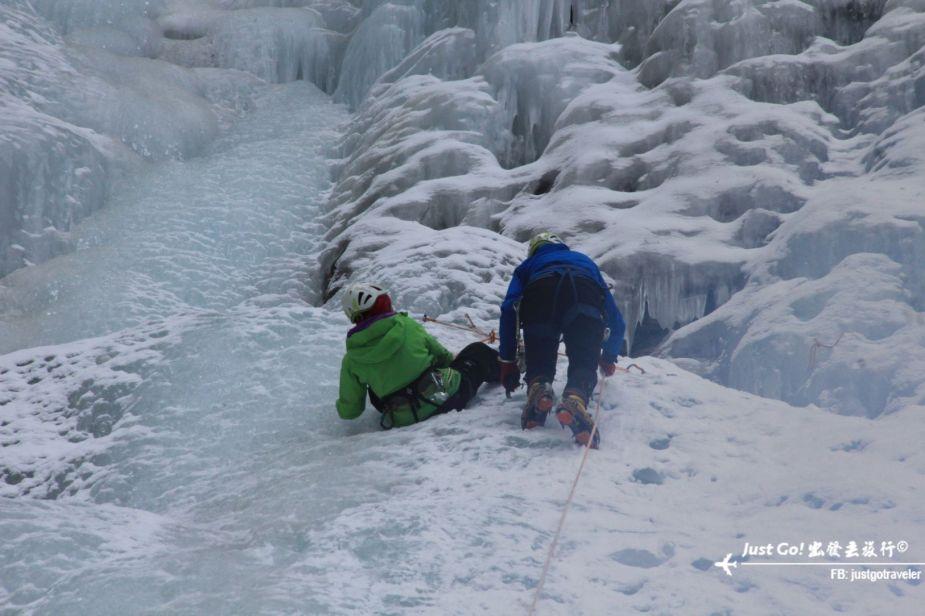 雙溝橋冬季攀冰訓練攻略與心得17_