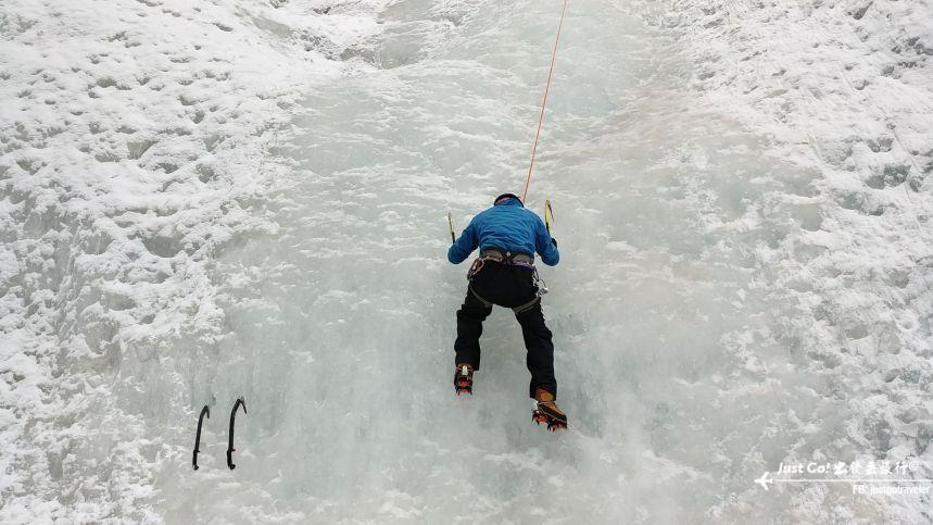 雙溝橋冬季攀冰訓練攻略與心得18_