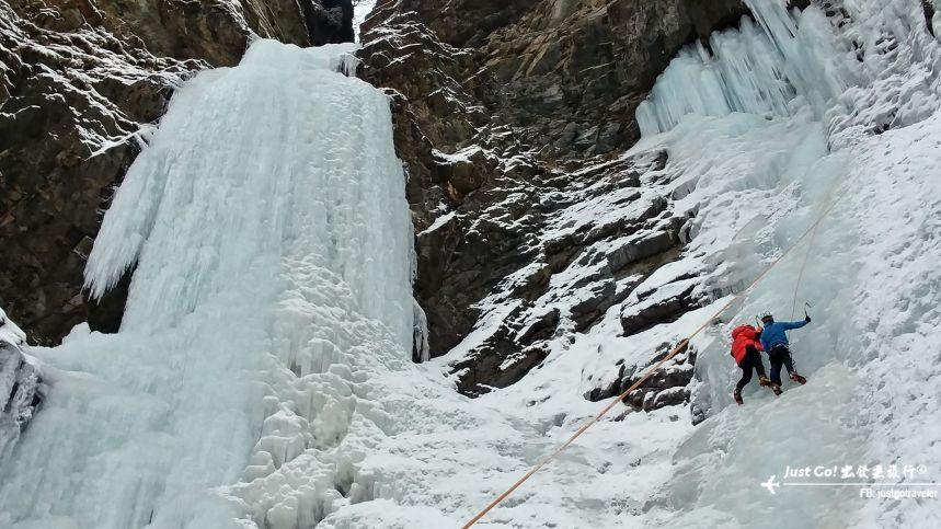 雙溝橋冬季攀冰訓練攻略與心得19_