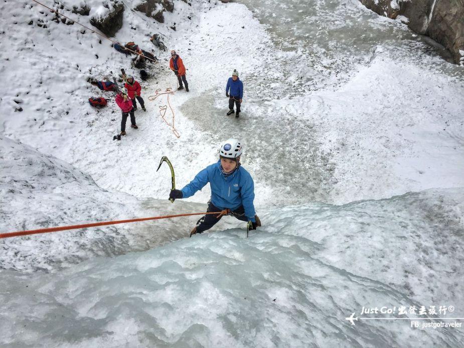 雙溝橋冬季攀冰訓練攻略與心得20_