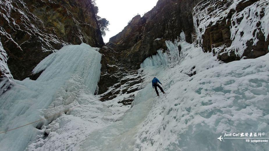 雙溝橋冬季攀冰訓練攻略與心得21_