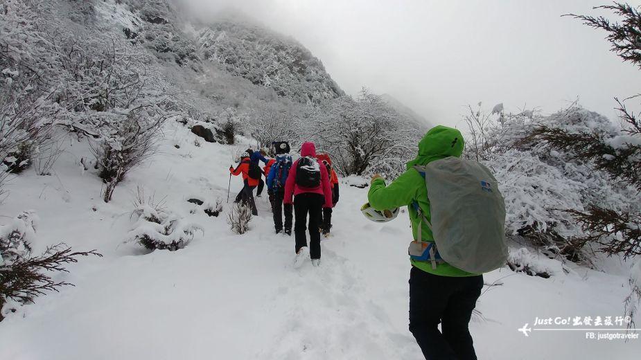 雙溝橋冬季攀冰訓練攻略與心得28_