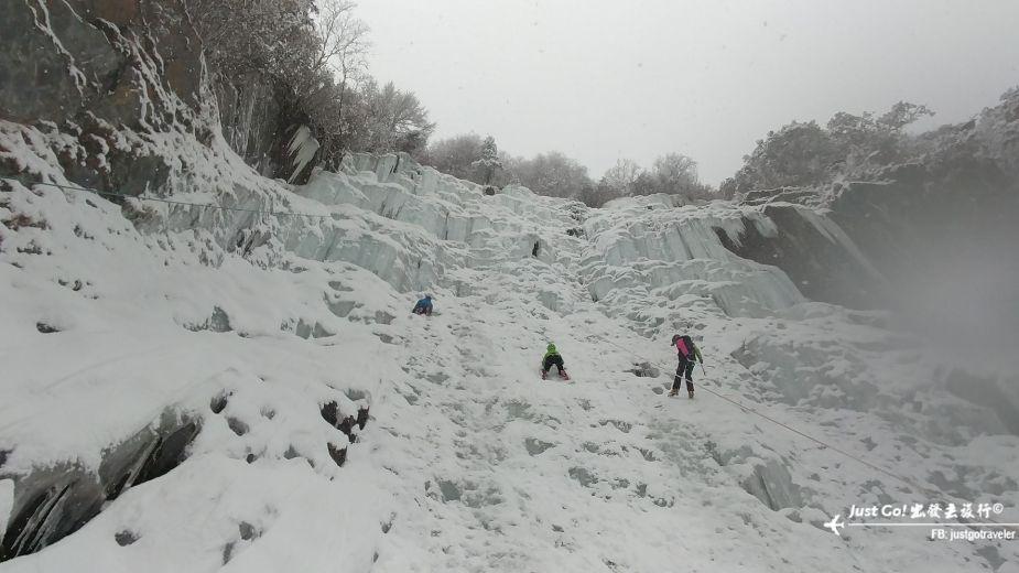 雙溝橋冬季攀冰訓練攻略與心得29_