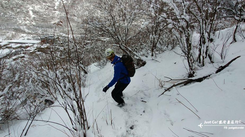 雙溝橋冬季攀冰訓練攻略與心得31_
