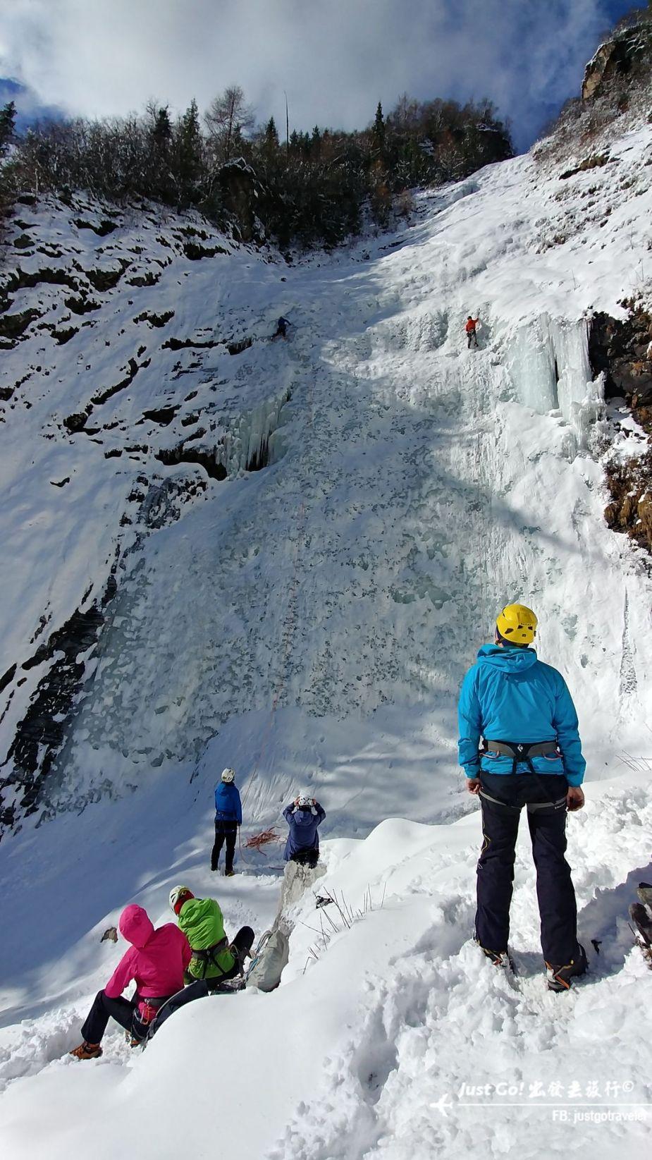 雙溝橋冬季攀冰訓練攻略與心得35_