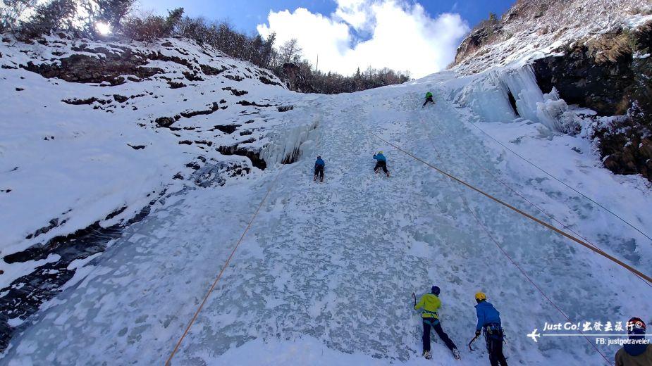 雙溝橋冬季攀冰訓練攻略與心得36_