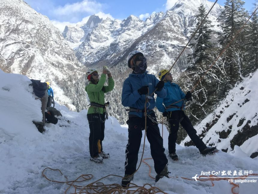 雙溝橋冬季攀冰訓練攻略與心得37_
