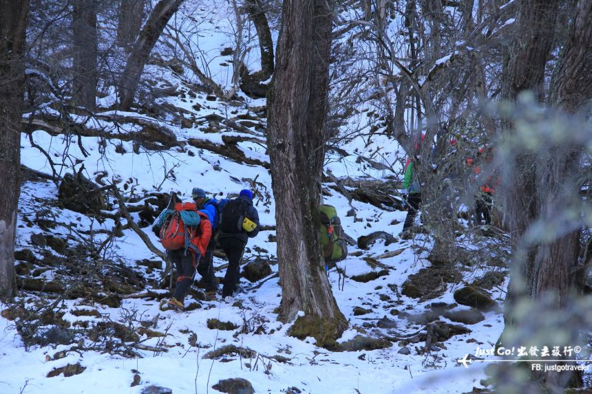 雙溝橋冬季攀冰訓練攻略與心得41_
