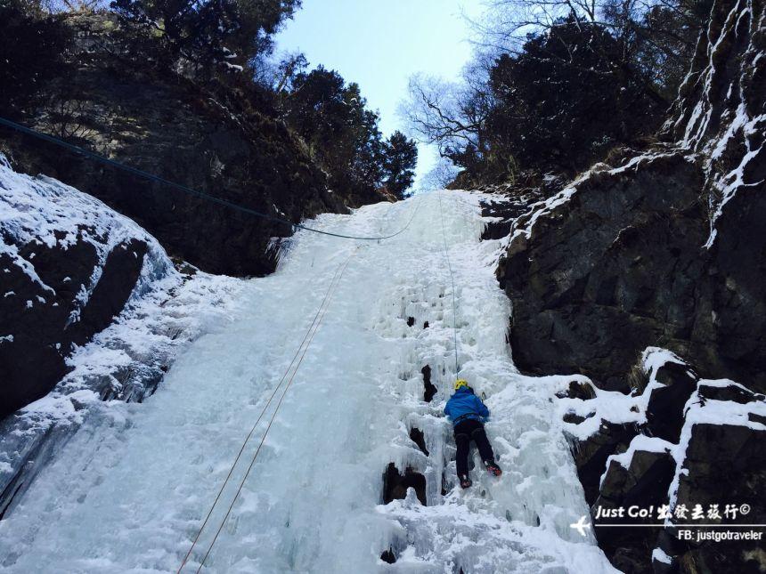 雙溝橋冬季攀冰訓練攻略與心得42_