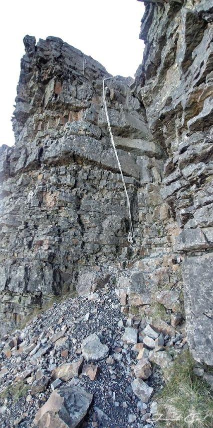 品田斷崖第二段