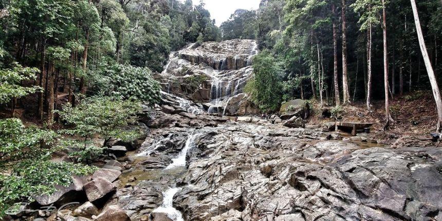 馬來西亞 - 林明山、雙溪班登瀑布、查惹洞關丹