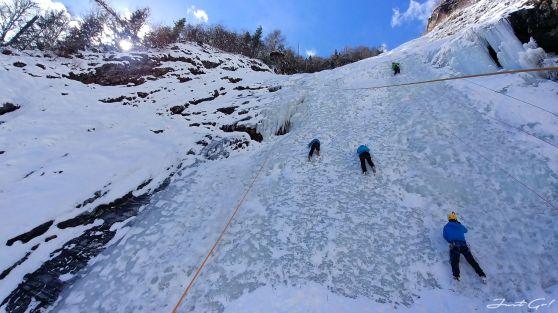 雙橋溝攀冰