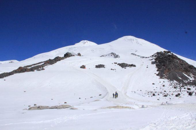 Elbrus東西峰