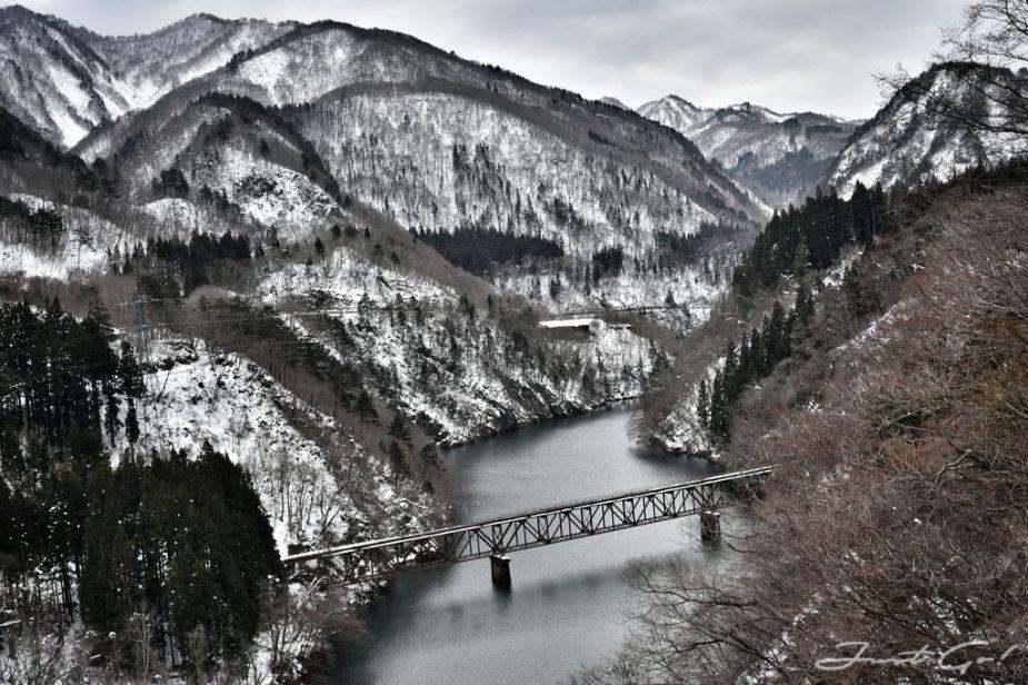 2019日本 - 冬雪·福島只見線7大拍攝點、時刻表、交