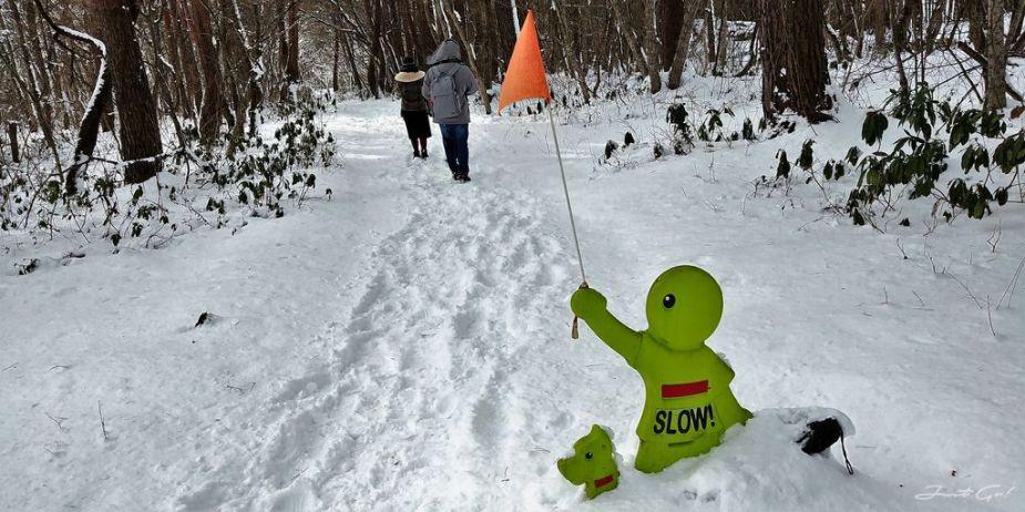 日本 - 福島·冬季戶外旅遊-猪苗代湖、五色沼健行01