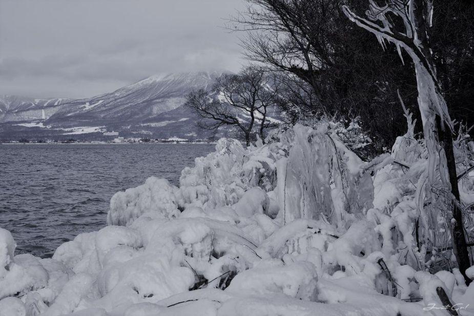日本 - 福島·冬季戶外旅遊-猪苗代湖、五色沼健行07