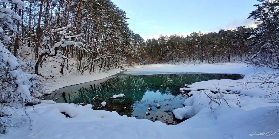 日本 - 福島·冬季戶外旅遊-猪苗代湖、五色沼健行21