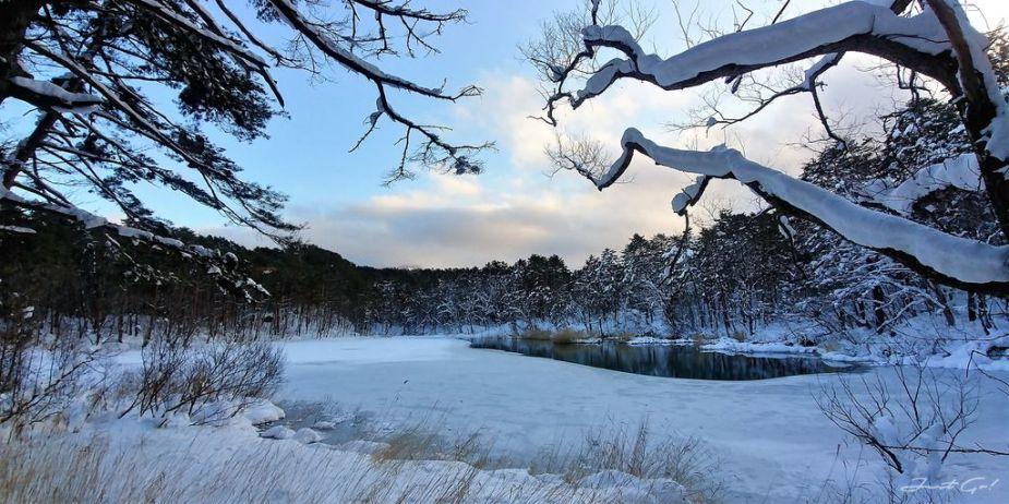 日本 - 福島·冬季戶外旅遊-猪苗代湖、五色沼健行22