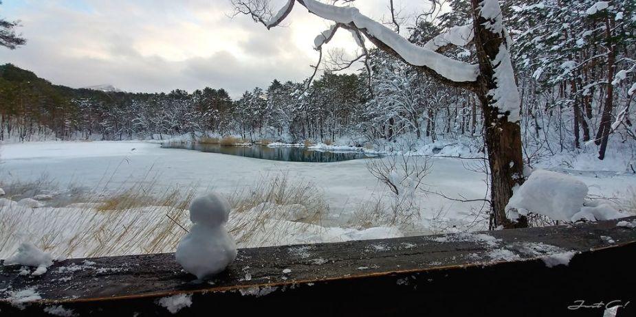 日本 - 福島·冬季戶外旅遊-猪苗代湖、五色沼健行23