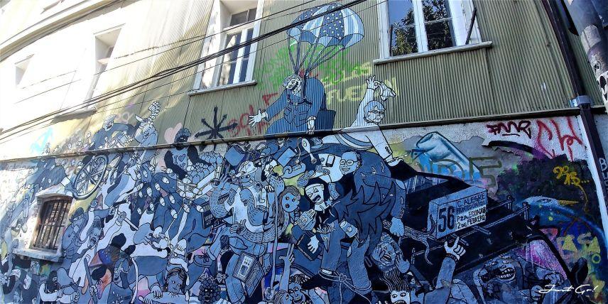 智利 - 聖地牙哥後花園·Valparaiso免費導覽經典景點一日小旅行14