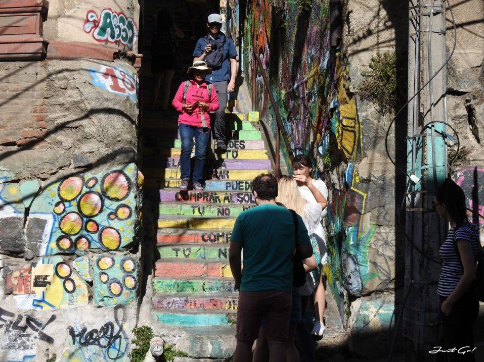 智利 - 聖地牙哥後花園·Valparaiso免費導覽經典景點一日小旅行42