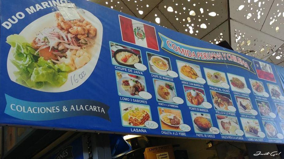 智利 - 聖地牙哥必吃美食推薦·海鮮、水果、雞腿、豬牛排與紅酒01_