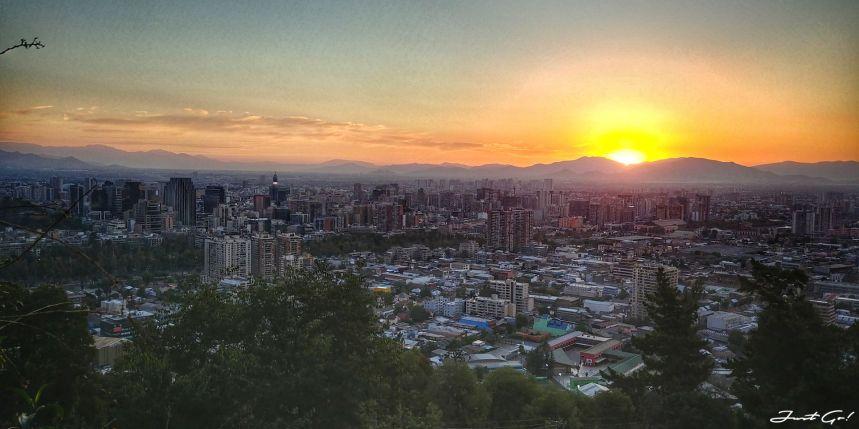 智利 - 聖地牙哥旅遊·自助探訪瀑布、俯瞰市景熱門登山健行路線20_