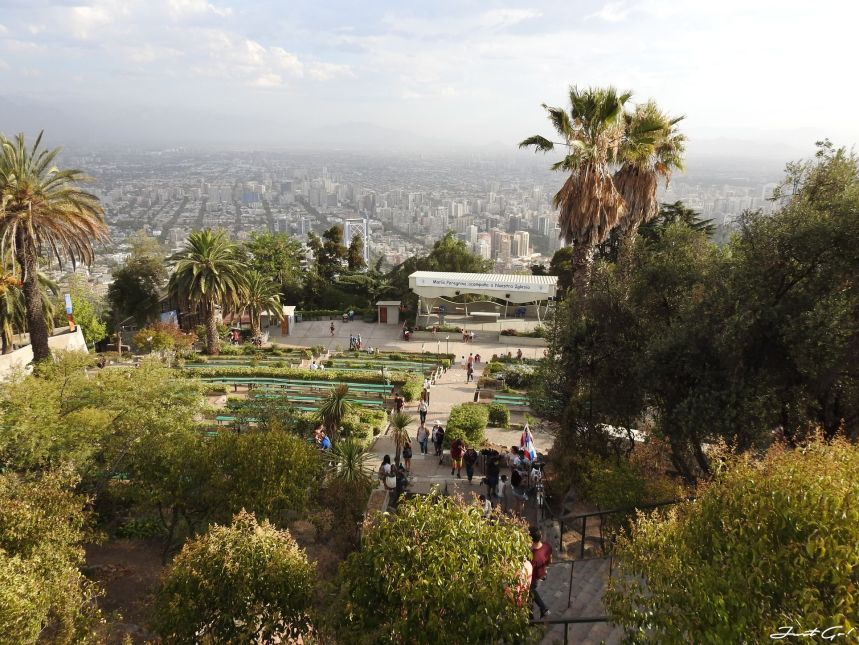 智利 - 聖地牙哥旅遊·自助探訪瀑布、俯瞰市景熱門登山健行路線24_