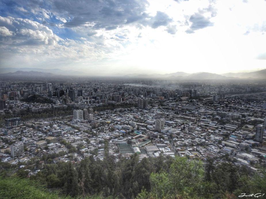 智利 - 聖地牙哥旅遊·自助探訪瀑布、俯瞰市景熱門登山健行路線25_