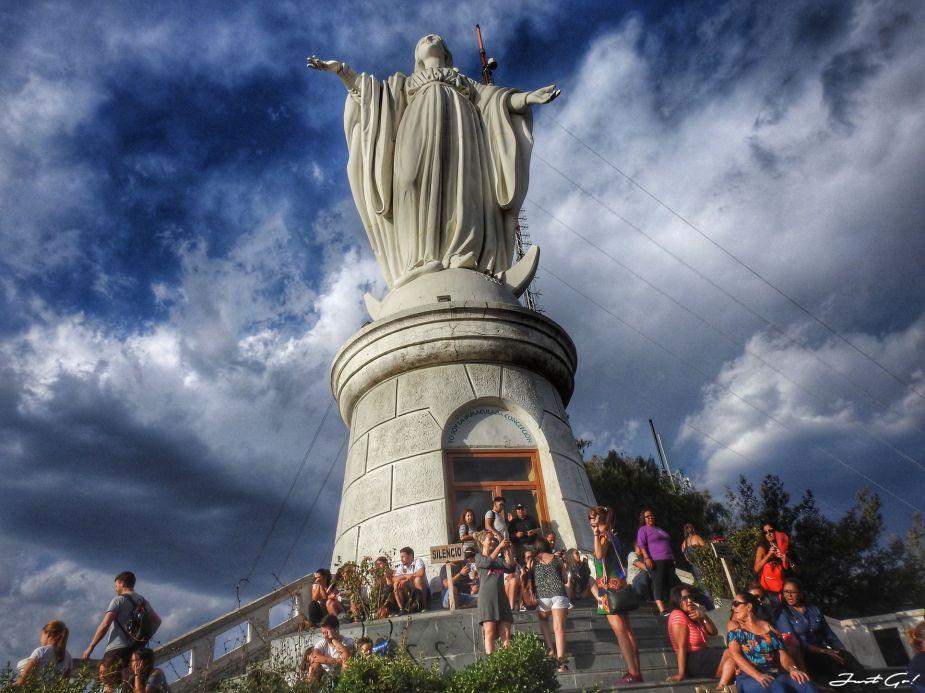 智利 - 聖地牙哥旅遊·自助探訪瀑布、俯瞰市景熱門登山健行路線28_