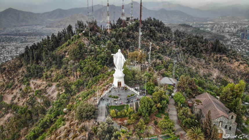 智利 - 聖地牙哥旅遊·自助探訪瀑布、俯瞰市景熱門登山健行路線29_