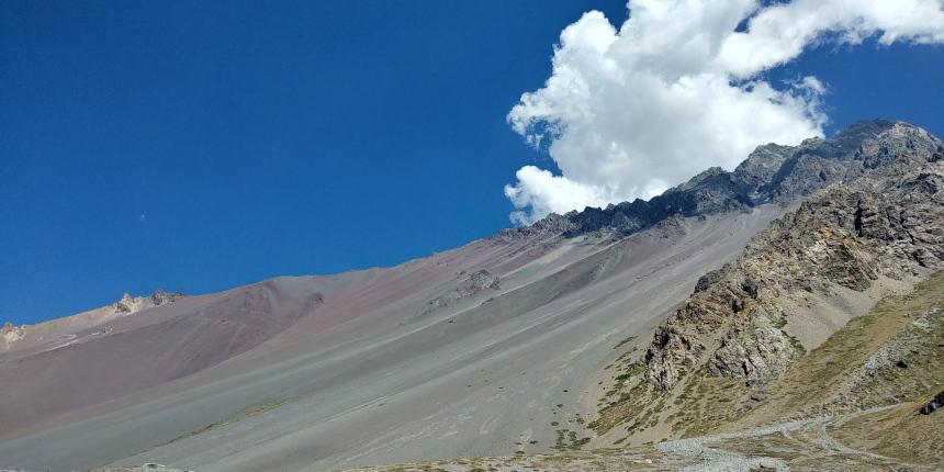 智利 - 首都聖地牙哥近郊·安地斯山脈秘境景點冰川水庫Embalse el Yeso03