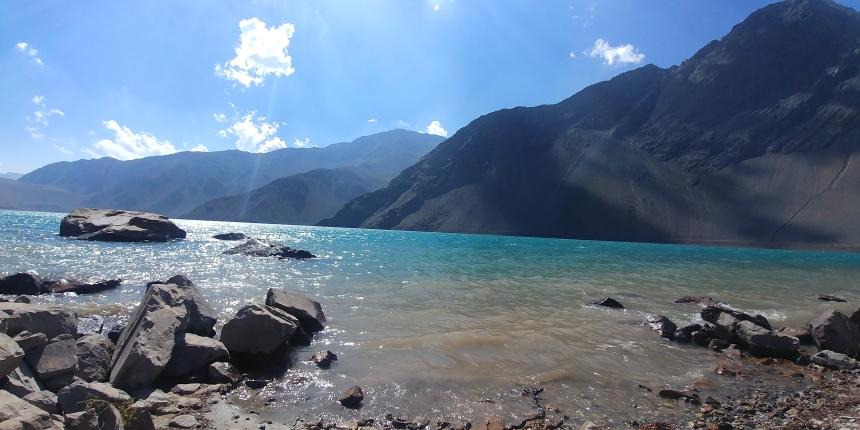 智利 - 首都聖地牙哥近郊·安地斯山脈秘境景點冰川水庫Embalse el Yeso07