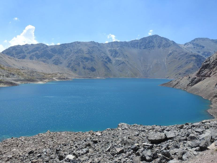 智利 - 首都聖地牙哥近郊·安地斯山脈秘境景點冰川水庫Embalse el Yeso08