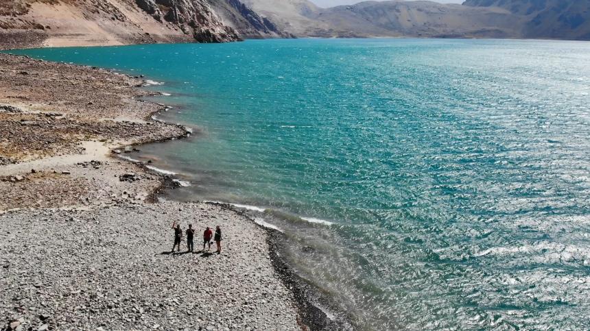 智利 - 首都聖地牙哥近郊·安地斯山脈秘境景點冰川水庫Embalse el Yeso10.jpg
