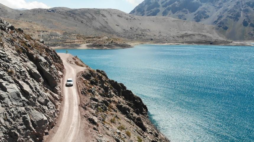 智利 - 首都聖地牙哥近郊·安地斯山脈秘境景點冰川水庫Embalse el Yeso12