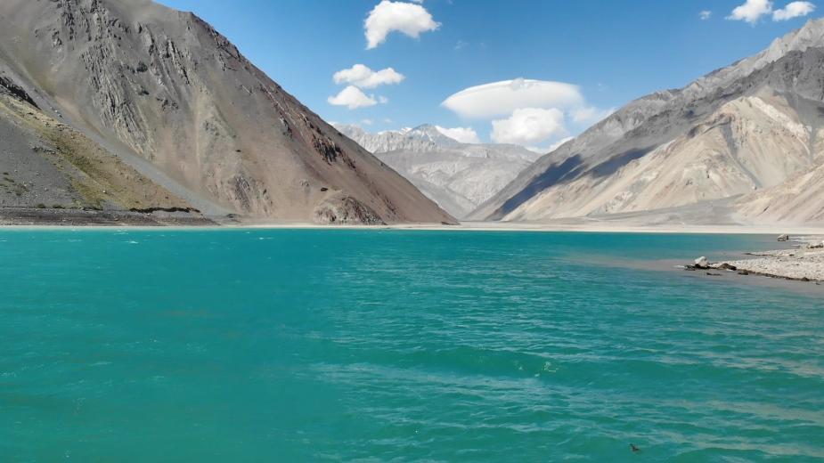 智利 - 首都聖地牙哥近郊·安地斯山脈秘境景點冰川水庫Embalse el Yeso14
