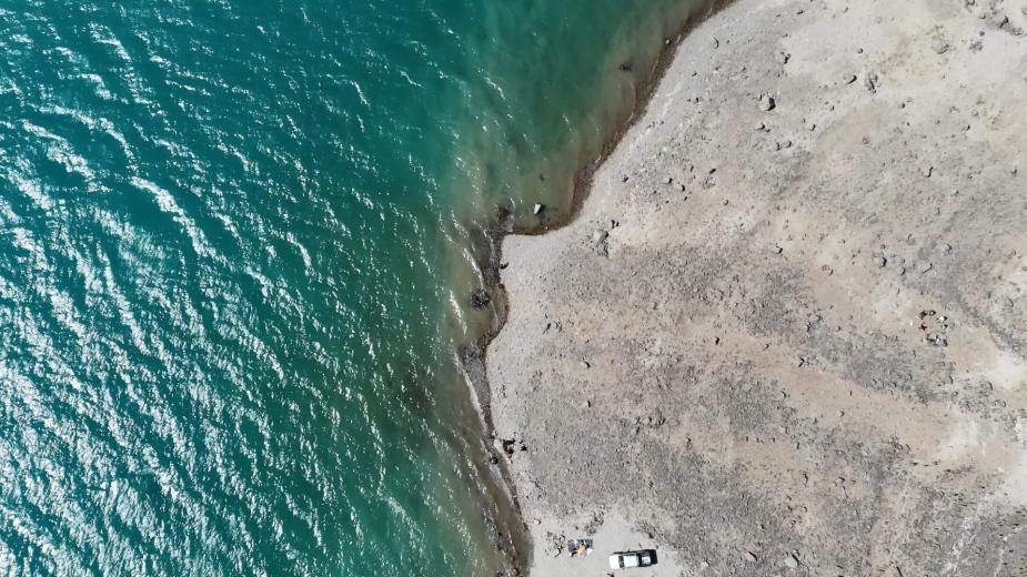 智利 - 首都聖地牙哥近郊·安地斯山脈秘境景點冰川水庫Embalse el Yeso15