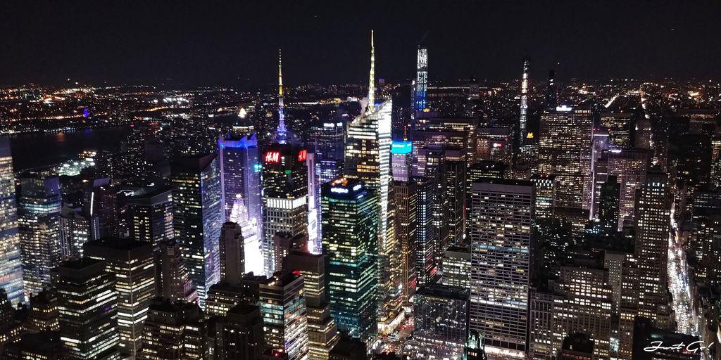 美國 - 紐約曼哈頓3大日落夜景拍攝景點-洛克菲勒、帝國大廈、自由女神01_