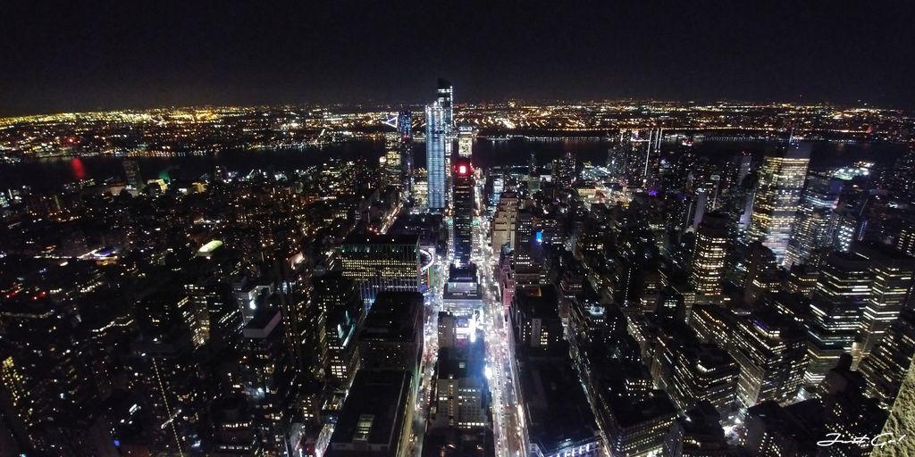 美國 - 紐約曼哈頓3大日落夜景拍攝景點-洛克菲勒、帝國大廈、自由女神02_