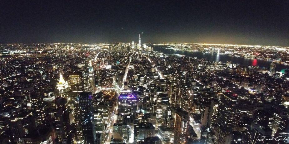 美國 - 紐約曼哈頓3大日落夜景拍攝景點-洛克菲勒、帝國大廈、自由女神03_